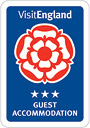 Visit England registered 3 star accommodation